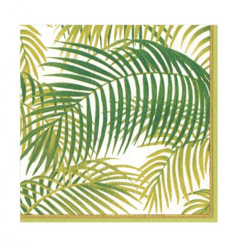 A photo of the Under The Palms Luncheon Napkins product
