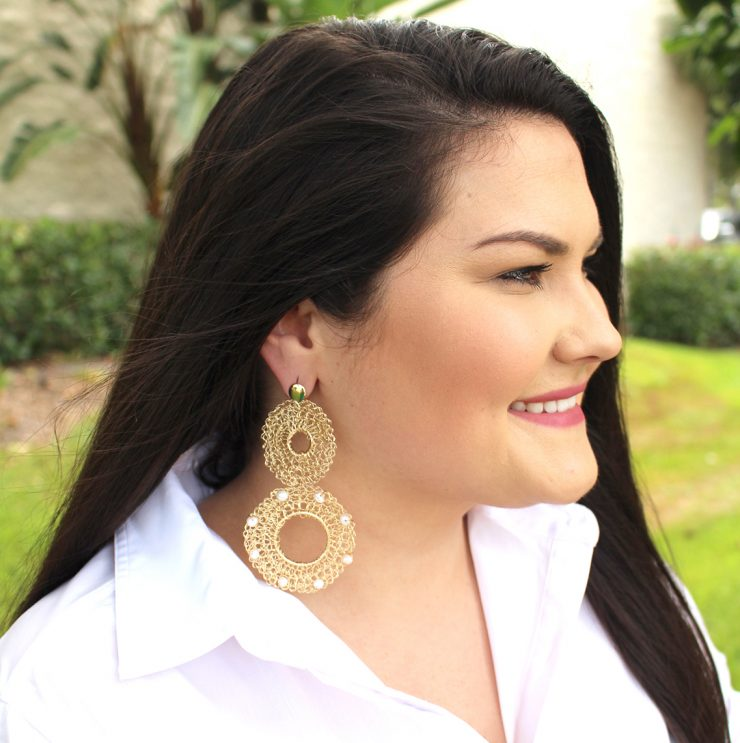 A photo of the Glossy Earrings product