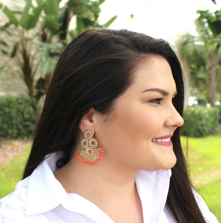 A photo of the Flashy Earrings product