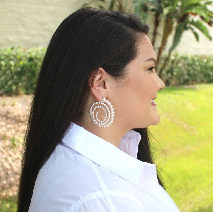 A photo of the Spark Earrings product