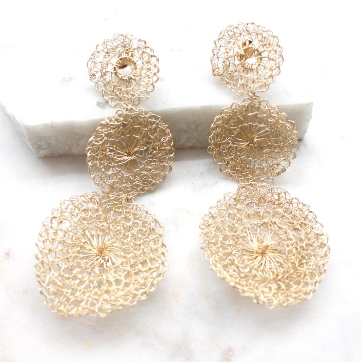 A photo of the Twinkle Earrings product