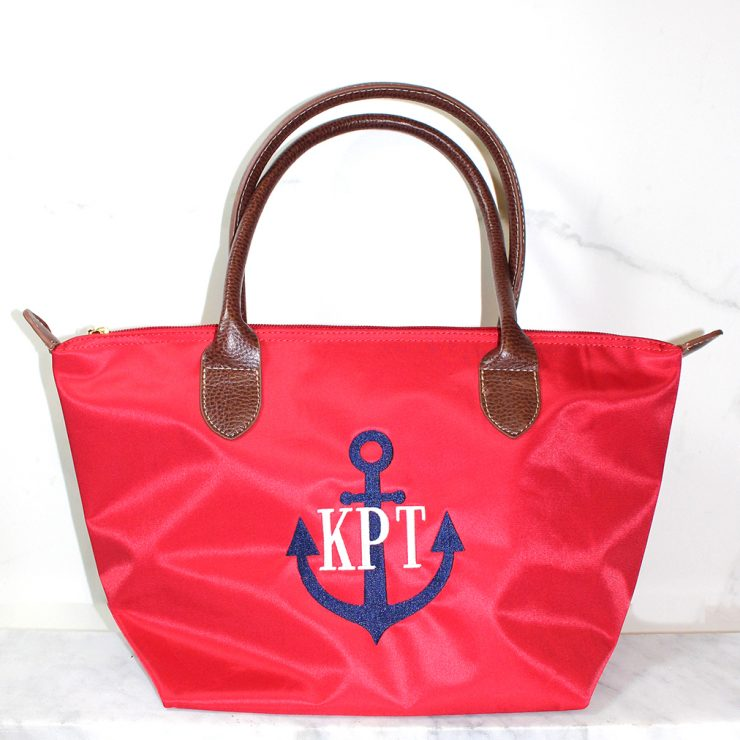 A photo of the Kennebunkport Anchor Tote product