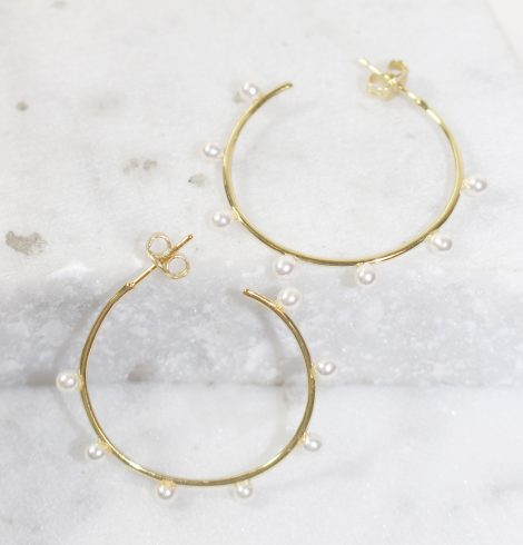 A photo of the Pearl Hoops product