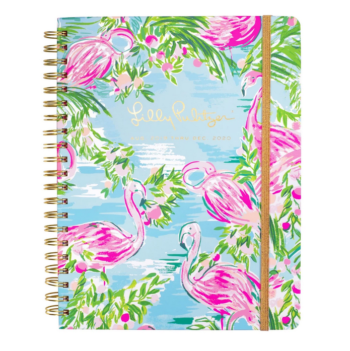 A photo of the Large Lilly Pulitzer 17 Month Agenda In Floridita product