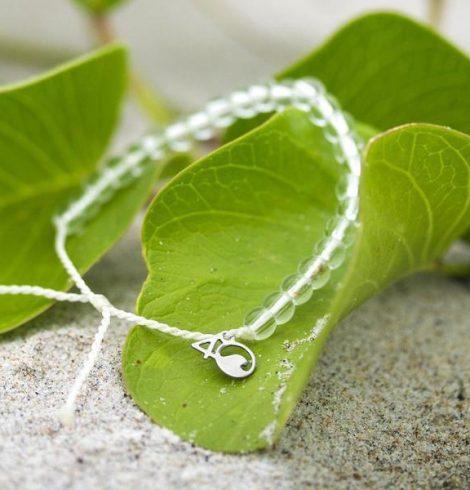 A photo of the 4Ocean Polar Bear Bracelet product