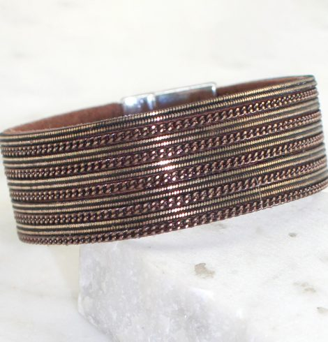 A photo of the Striped Bracelet product