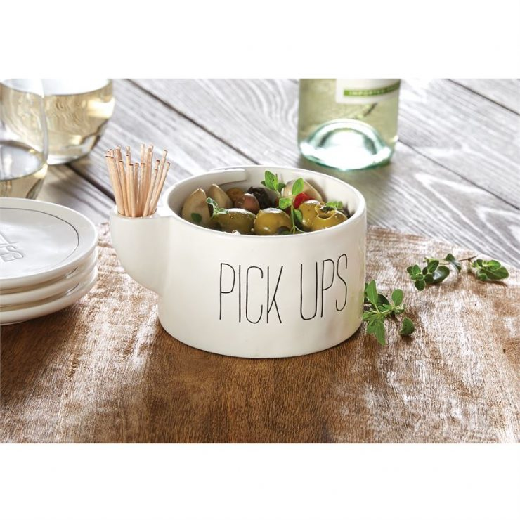 A photo of the Pick Ups Toothpick Bowl Set product