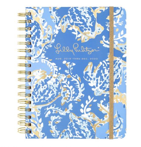 Medium Lilly Pulitzer 17 Month Agenda In Turtley Awesome
