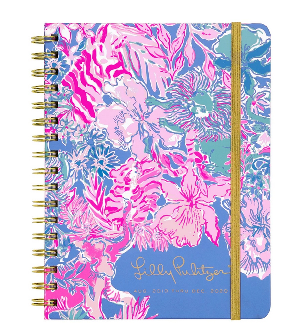 A photo of the Lilly Pulitzer 17 Month Monthly Planner In Viva La Lilly product