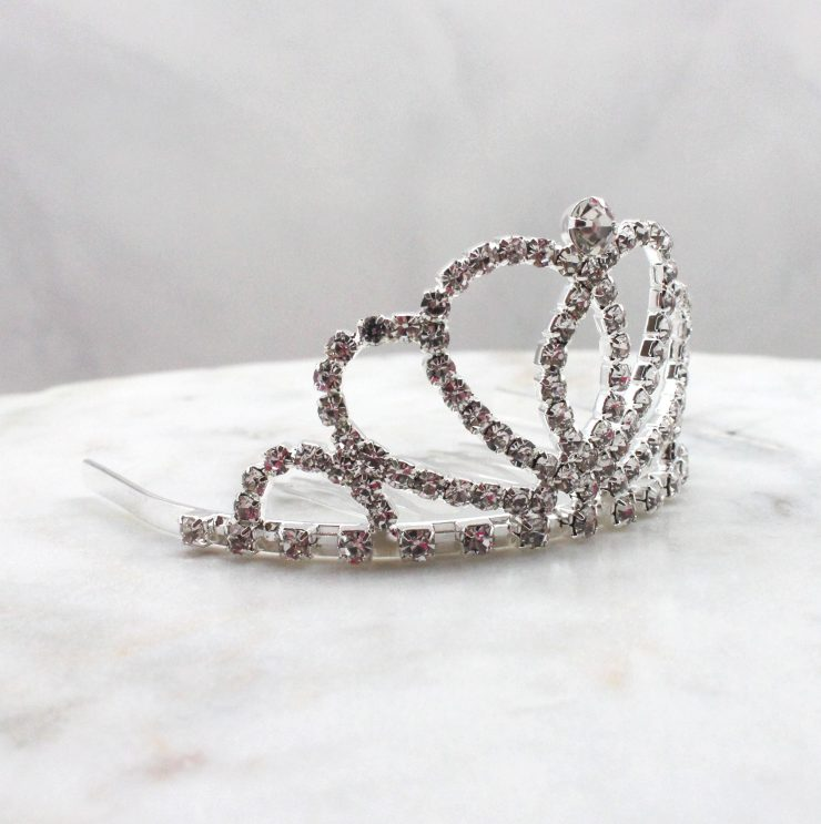 A photo of the Isabella Mini Tiara product