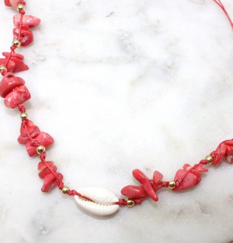 A photo of the Island Choker Necklace product