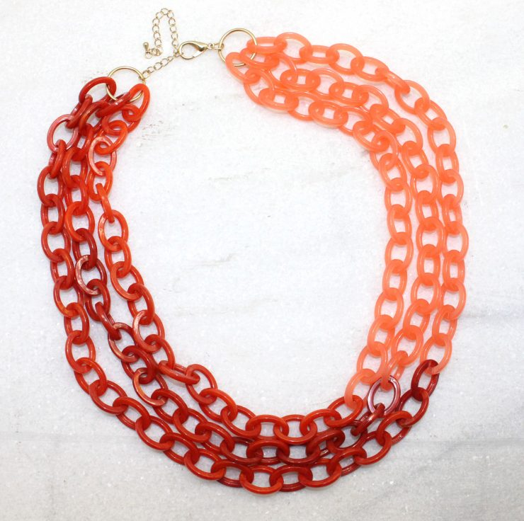 A photo of the Layered Link Necklace product