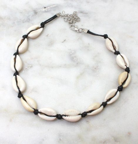 A photo of the Perfect Cowrie Choker Necklace product