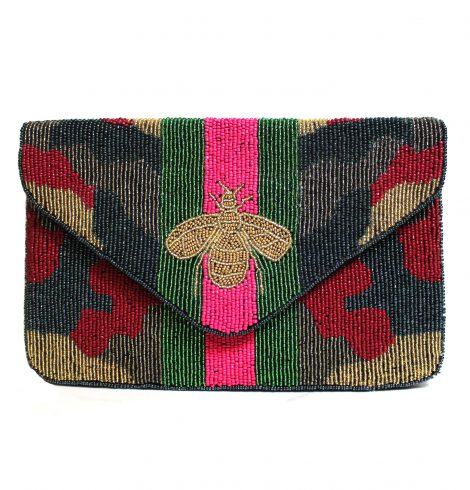 A photo of the The Queen Bee Handbag product