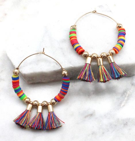 A photo of the Tatum Earrings In Multi Color product