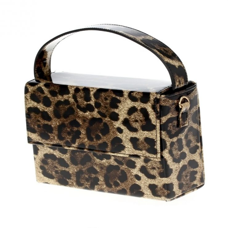A photo of the Amelia Hand Bag in Leopard product
