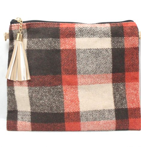 A photo of the Autumn Buffalo Check Cross Body Purse product