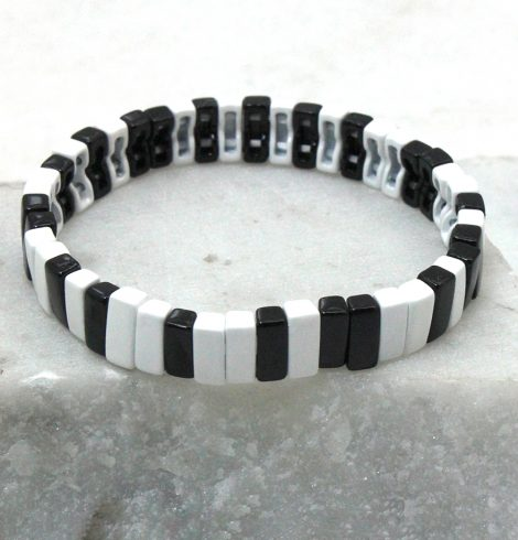 A photo of the The Basic Rectangle Color Block Bracelet product