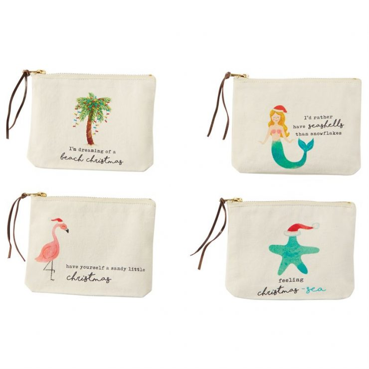A photo of the Beach Christmas Pouches product