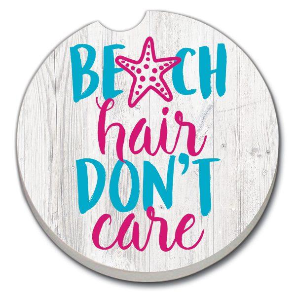 A photo of the Beach Hair Car Coaster product