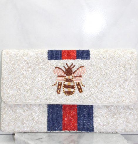 A photo of the Bee Beautiful Handbag product