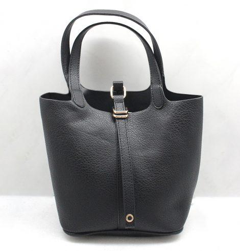 Beth Hand Bag in Black