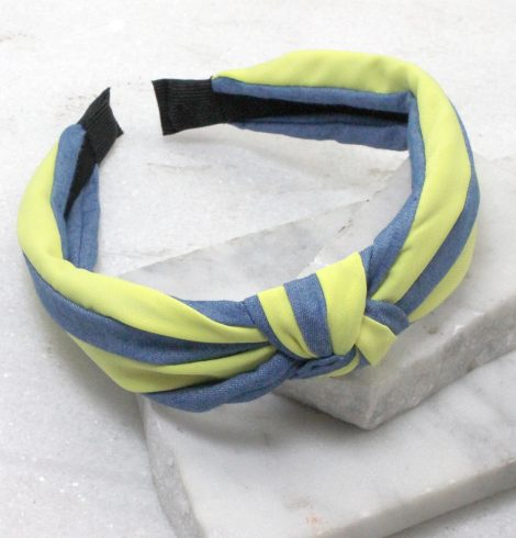 A photo of the Blue Jean Girl Headband in Pink product