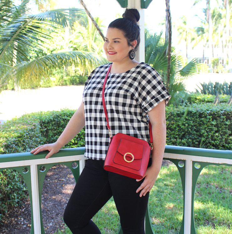Cece Cross Body in Red