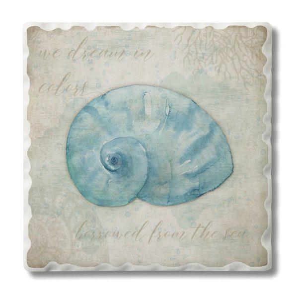 A photo of the Coastal Shell Coasters product