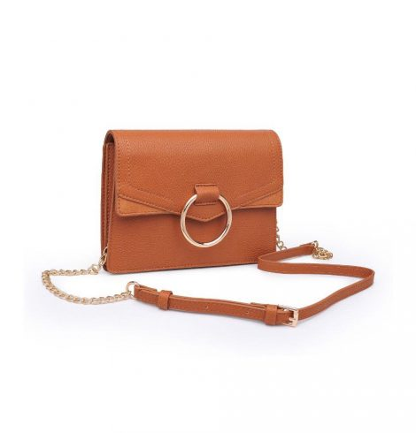 A photo of the Ella Pebble Cross Body In Tan product
