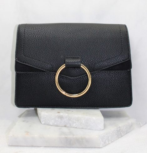 A photo of the Ella Pebble Cross Body In Black product
