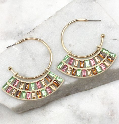 A photo of the Sweet Earrings in Fruit Tart product