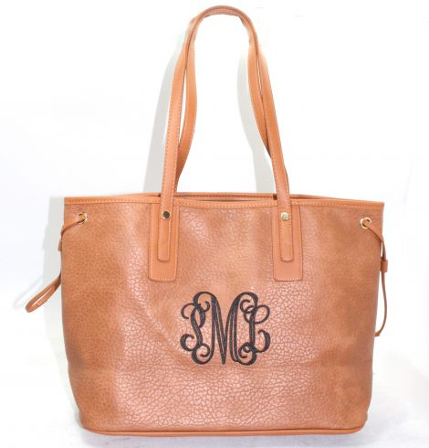 A photo of the Geri Shopper Tote in Camel product