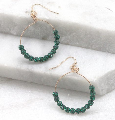 A photo of the Fireball Hoops in Green product
