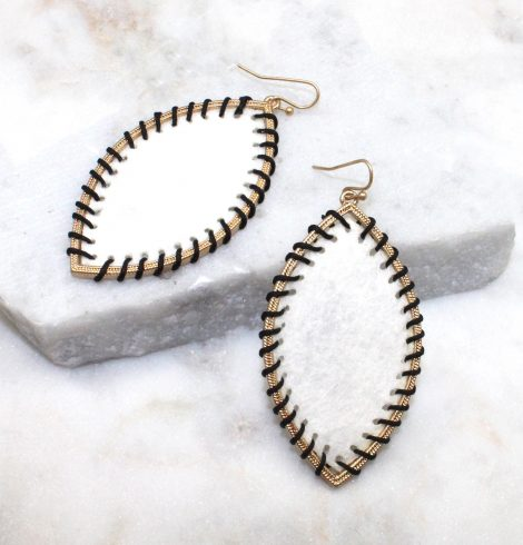 A photo of the Gypsy Earrings In White product