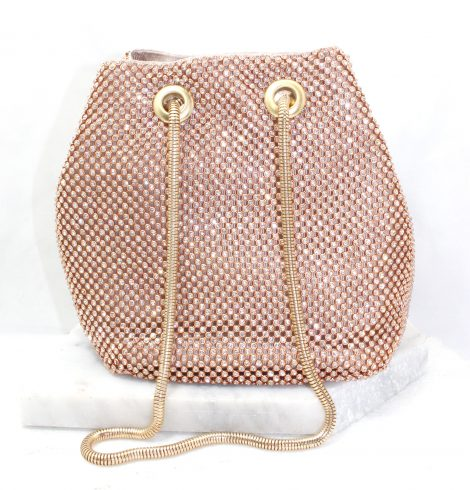 A photo of the Kiki Evening Bag In Rose Gold product