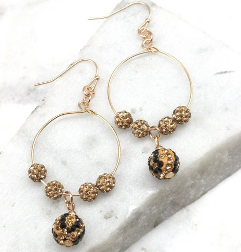 A photo of the On the Hunt Earrings product