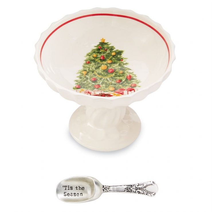 A photo of the Christmas Pedestal Dip Sets product