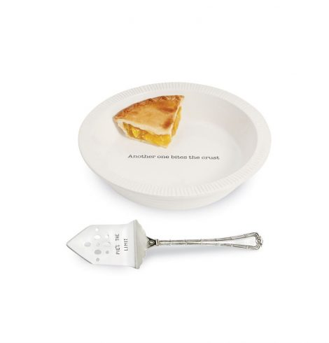 A photo of the Circa Pie Plate With Server product