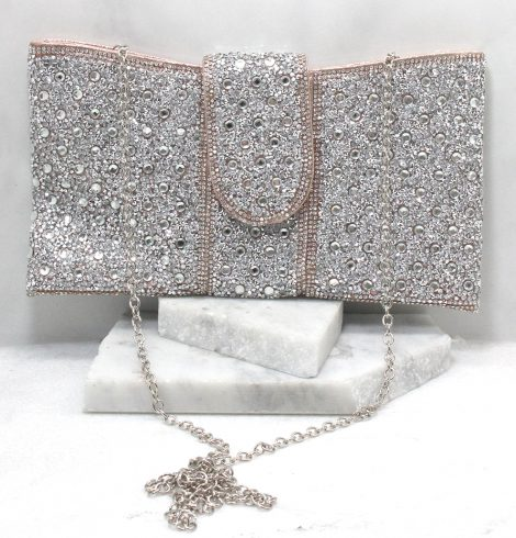 A photo of the Portia Clutch in Rose Gold product