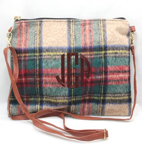 A photo of the Pretty Plaid Cross Body Purse product