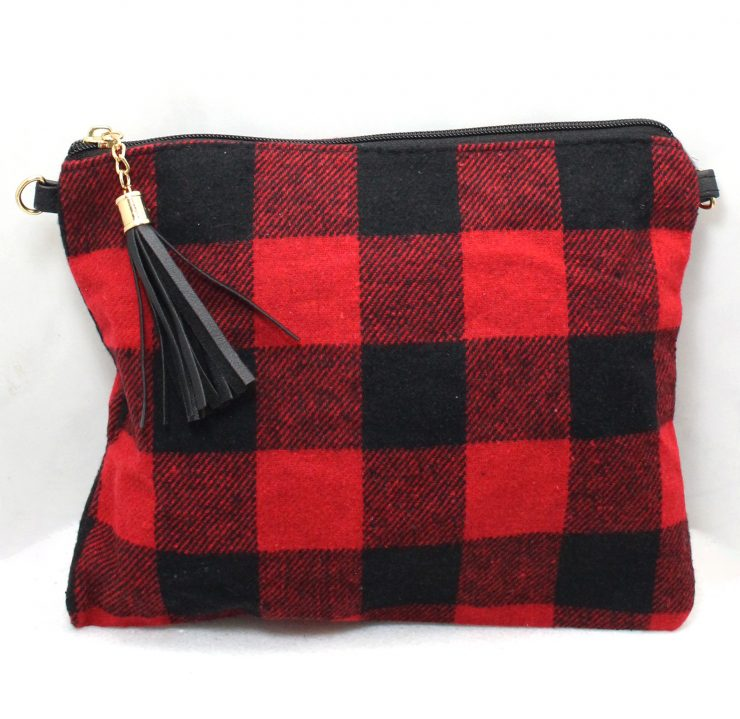 A photo of the Buffalo Check Cross Body Purse product