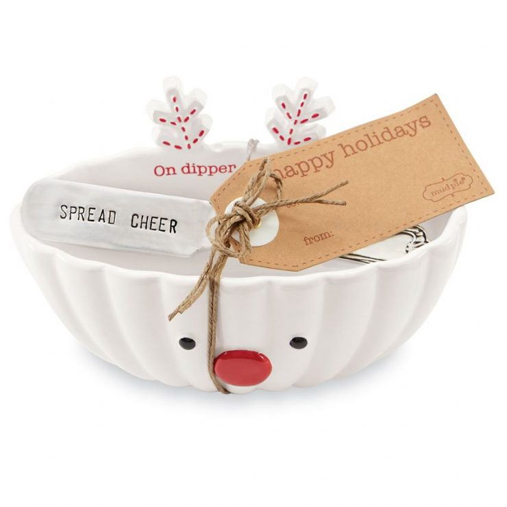 A photo of the Reindeer Dip Bowl Sets product