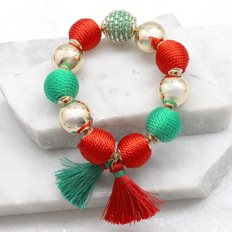 A photo of the Snowy Nights Bracelet product