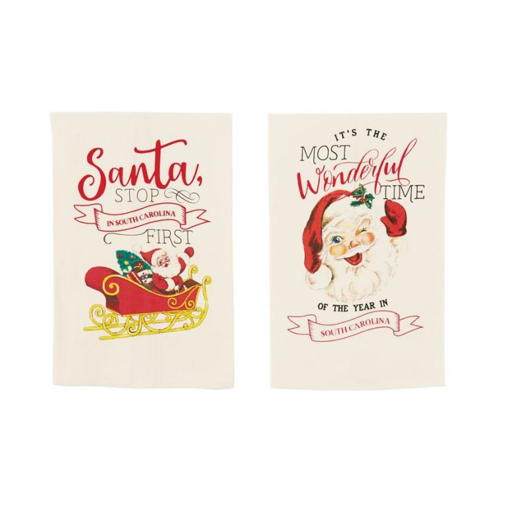 A photo of the Florida Christmas Towels product