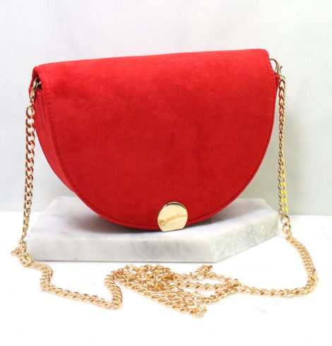 A photo of the Luna Hand Bag in Red product
