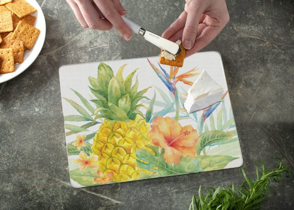 A photo of the Tropical Birds Cutting Board product
