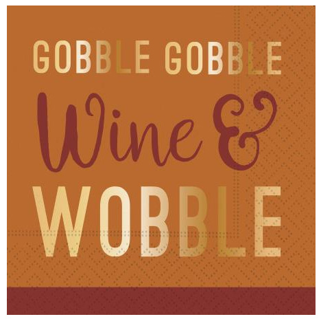 A photo of the Wine and Wobble Napkins product
