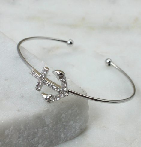 A photo of the Anchor Cuff Bracelet product