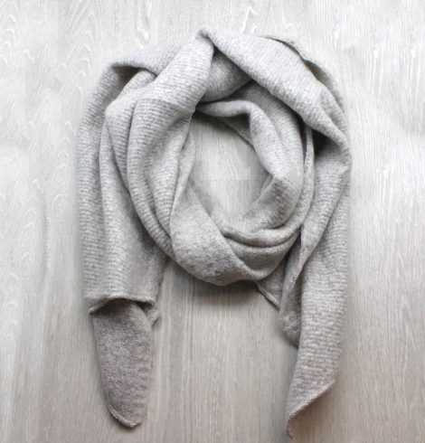 A photo of the Autumn Breeze Scarf in Grey product